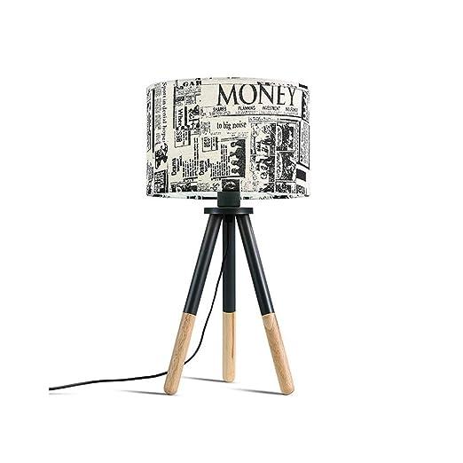 La Mejor lámpara de Mesa Nordic Art Creative Lamps Minimalista ...