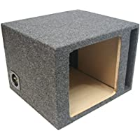 ASC Single 15 Subwoofer Kicker Square L3 L5 L7 Vented Port Sub Box Speaker Enclosure