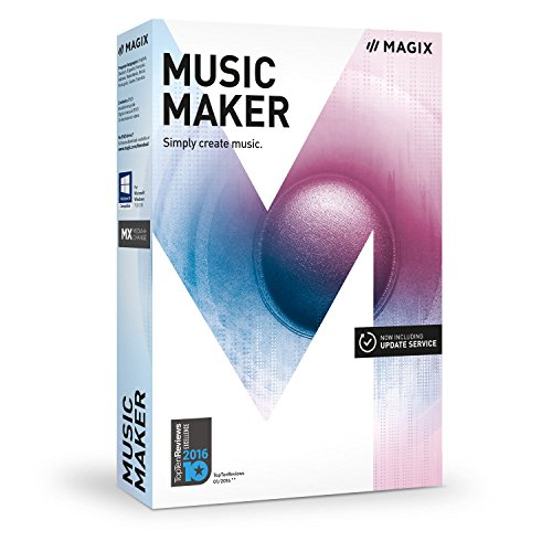 MAGIX Music Maker - 2017 Plus Edition - Make your own music the easy way