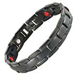 Starista Jewelry Womens Titanium Bracelet Magnetic Therapy Health Wristband