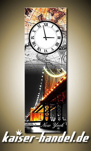 Uhr Küche | Leinwandbilder Wanduhr Designer Wandbild Leinwand Bild Uhr Kuche