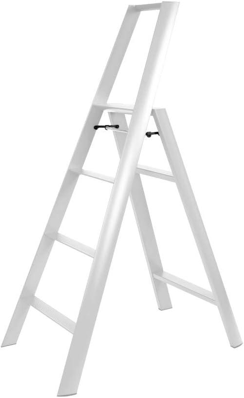 2 Step Aluminium Mint-Green Hasegawa Ladders Lucano Tritthocker