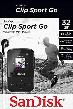 Sandisk Clip Sport Go Black Computer Zubehör