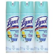Lysol Disinfectant Spray for Baby's Room, 19 oz 3-Pack