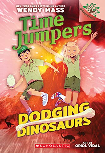 Dodging Dinosaurs: A Branches Book (Time Jumpers ()