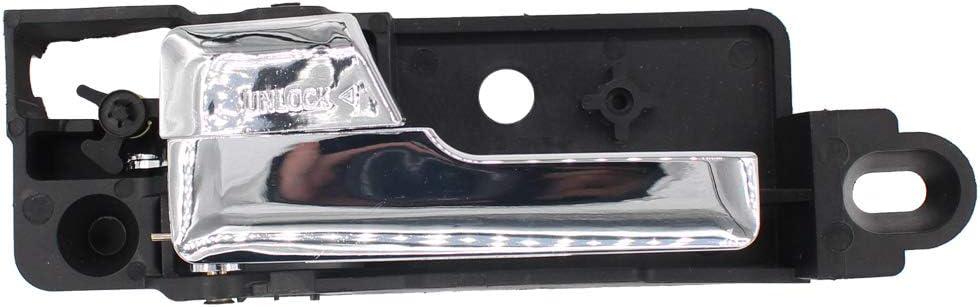 NewYall Rear Left Driver Side Inside Interior Inner Chrome Door Handle