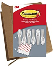 Save on Command 6 Cord Bundlers, GP304-6NA, Each bundler holds up to 2 pounds in easy to open packaging, 6 bundlers and 12 strips, White and more
