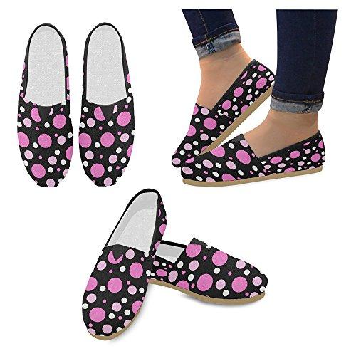 Interestprint Femmes Mocassins Classique Casual Toile Glisser Sur La Mode Chaussures Sneakers Appartements Multi 22
