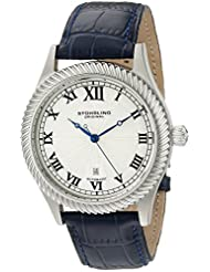 Stuhrling Original Men's Classic Augustus Automatic Mechanical Date Blue Watch 91C.3315C2