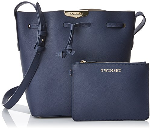 TWIN-SET As7pwr - bolso cubo Mujer Blu (Blu Nautico)