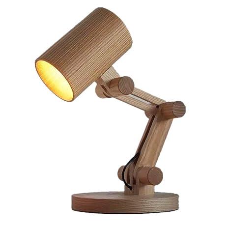 Diseño De Mesa De Madera Lámpara De Mesa Lámpara De Salón ...