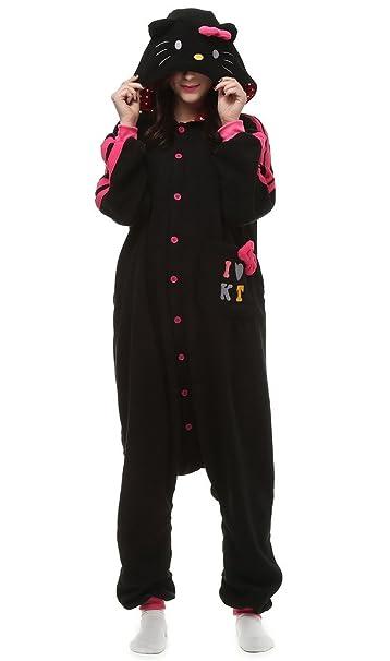 Auspicious beginning Disfraces Cosplay Hello Kitty dibujos animados para adultos pijamas Homewear desgaste del salón: Amazon.es: Ropa y accesorios