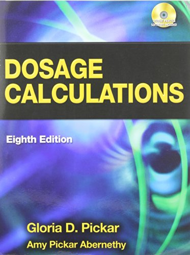Dosage Calculations Book
