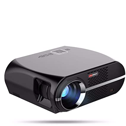 Amazon.com: QUARKJK 3200 lúmenes proyector 1GB+8GB Amlogic ...