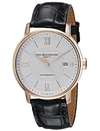 Baume & Mercier Men's A10037 Classima Analog Display Swiss Automatic Black Watch