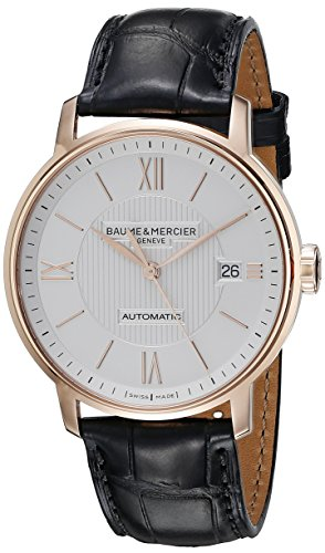 Baume-Mercier-Mens-A10037-Classima-Analog-Display-Swiss-Automatic-Black-Watch