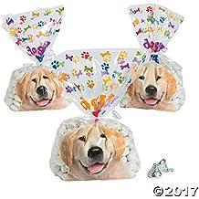 Doggy Bag Cellophane Bags - 12 pc