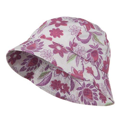 Ladies Floral Bucket Hat -...