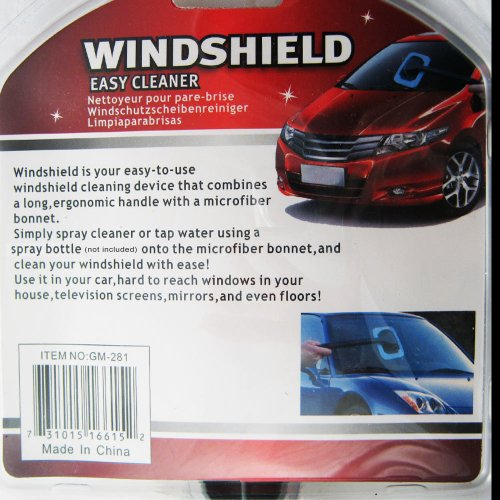 Windshield Clean Fast Easy Shine Car Auto Wiper Cleaner