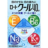 Rohto Cool 40a eyedrops 12ml  (Japan Import)