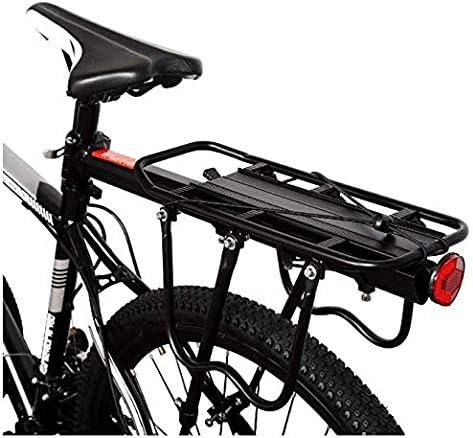 Bike Saddle Bag Rack Cycling Bike Rear Seat Cargo Bag Holder Quick Mount Release