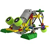 MINTOYS ® Robots Roo & Ribbit Kids Children Yellow and Green Mechanical Motorised Battery Operated Robotic Jungle Critters (Green Rabbit Critter)