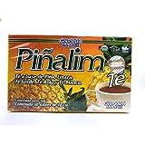 Pinalim Tea/Te de Pinalim Versión mexicana - Piña, lino, té verde y té blanco - Suministro de 30 días