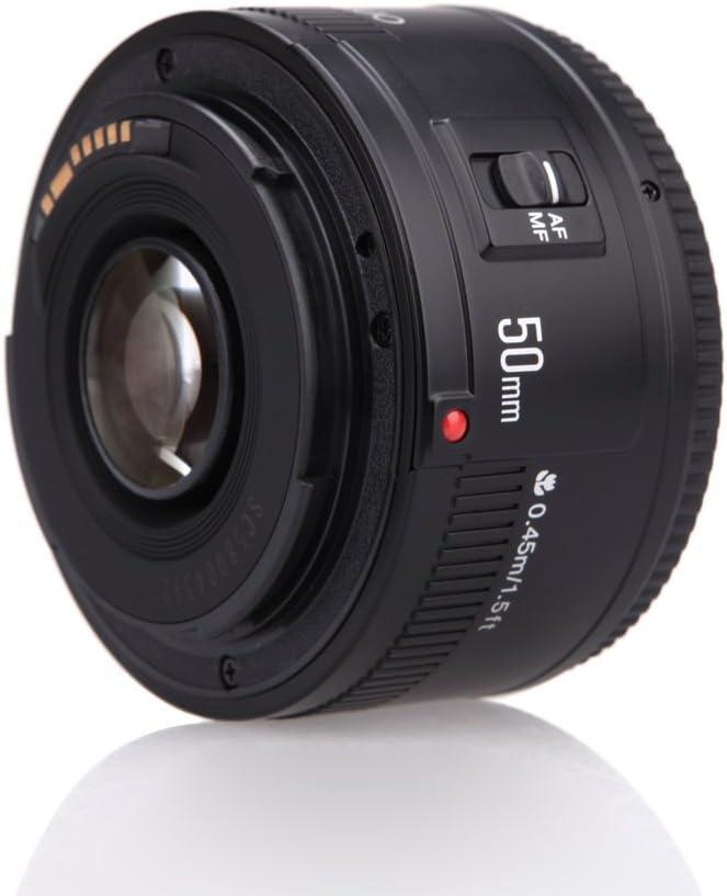 YONGNUO YN EF 50mm f / 1.8 Lente AF 1: 1.8 Apertura El primer ...