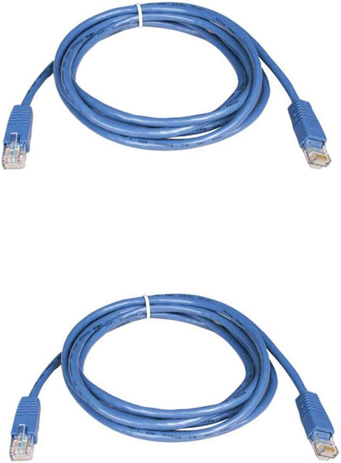 1-Pack , Blue 14 Foot BattleBorn Cat5e RJ45 Ethernet Network Cable Cord Pick Length /& Color