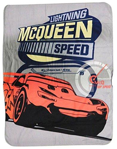 Disney Cars Lightning Mcqueen Fleece (Cars Fleece Throw)
