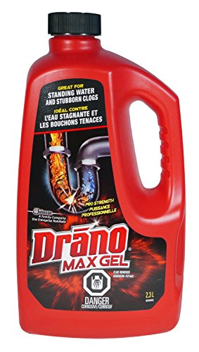 Buy cheap drano max gel clog remover 2370 milliliter