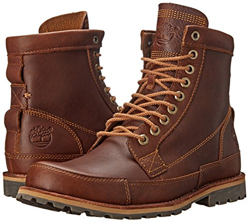 Timberland Men S Ek Original Leather 6 Inch Boot Tobacco
