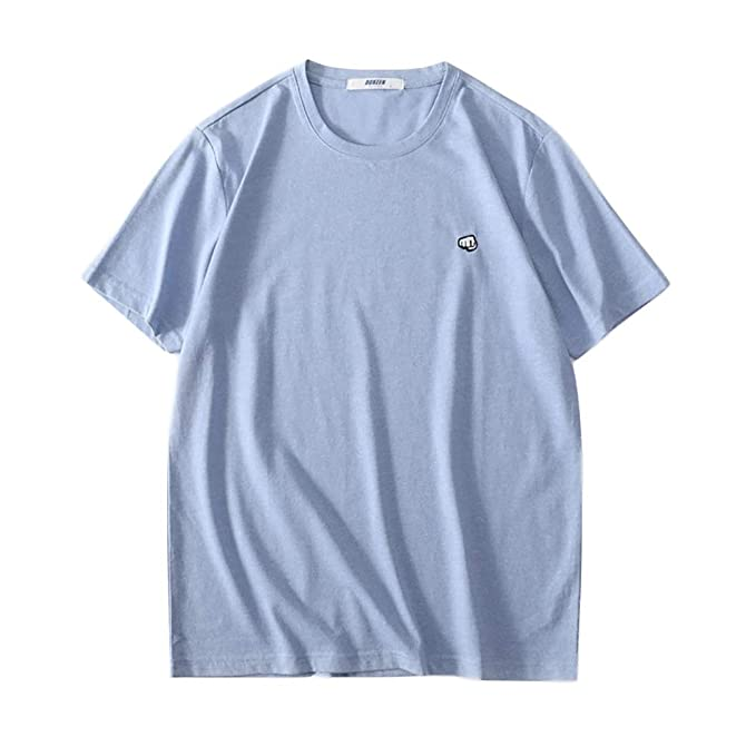 7bab746ae8 UNILIFE T-Shirt da Uomo Fresco Taglio Ampio, Manica Corta Girocollo ...