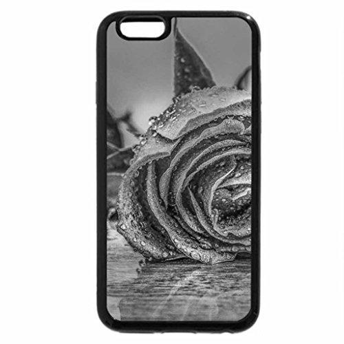 iPhone 6S Plus Case, iPhone 6 Plus Case (Black & White) - Rose for Beeble
