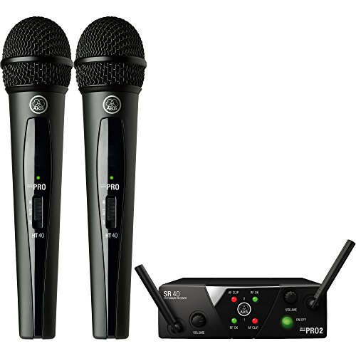 WMS40 MINI2 Dual Handheld Wireless Microphone System US25BD