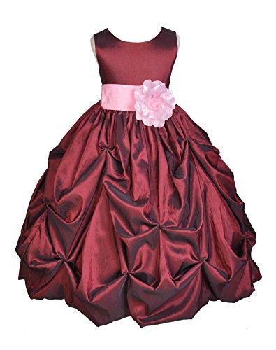 Zipper Taffeta Wedding Dress - 4