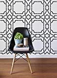Contemporary Trellis Wall Stencil - Large Wall Stencils - Geometric Wall Design Stencils - Modern Wallpaper Stencils - Feature Wall Mural Painting Stencils