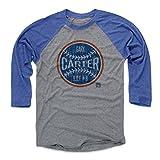 500 LEVEL Gary Carter Shirt - Vintage York Baseball Raglan Tee - Gary Carter Ball BO