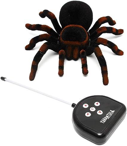 Halloween Remote Control Spider RC 8/'/' 4CH Tarantula Creepy Prank Toy Kid Gift