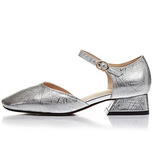 Nine SevenSandals - Zapatos de tacón  mujer plata