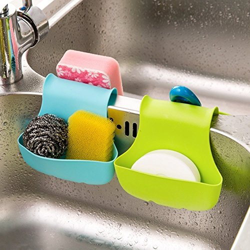 Kitchen Sink Soap And Sponge Caddy