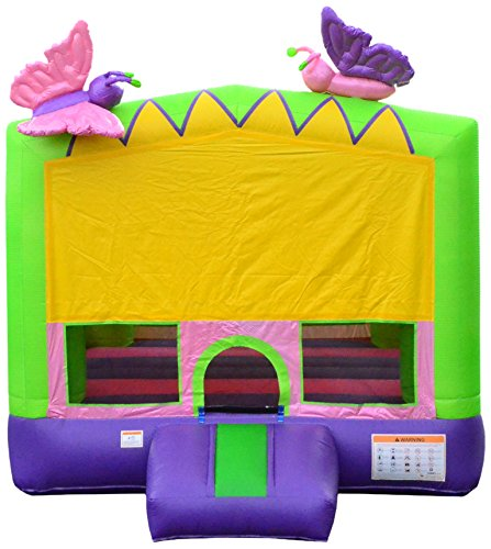 JumpOrange JC-BH13BE Inflatable Bounce House, 13' x 13'