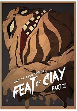 Pack Clayface - burning desire poster Rare Poster clayface Batman: The Animated Series Season 1 Episode 21 feat Clay Part II
