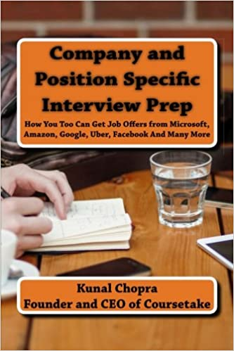 Company and Position Specific Interview Prep: How You Too