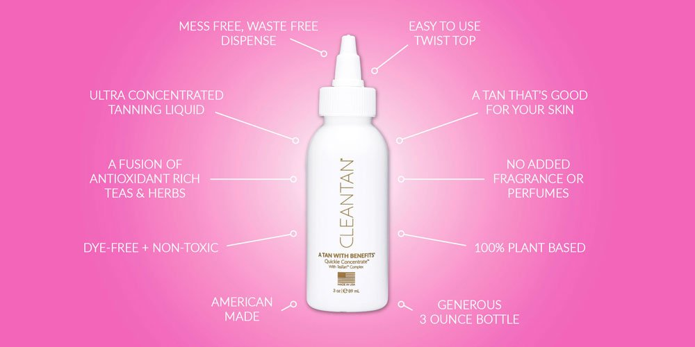 CLEANTAN self-tanning concentrate, natural bronze color that lasts like a spray tan, add to any lotion, serum or oil for a dream tanLAUNCH SPECIAL by CLEANTAN (Image #2)