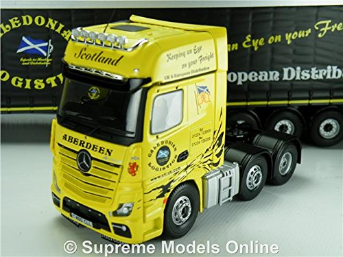 Caledonian Logistik Spielzeugautos & Zubehör Corgi Mercedes-benz Mp4 Curtainside Diecast-modell