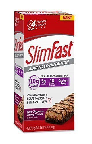 slim-fast-advanced-nutrition-meal-replacement-bar-chocolate-cherry-cashew-4-bars-by-slim-fast