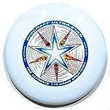 Discraft Ultra Star 175g Ultimate Frisbee'Starburst' - white