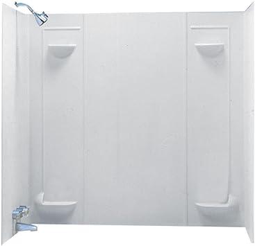 Swanstone Tf57000 010 Veritek Glue Up 5 Panel Bathtub Wall Kit 30