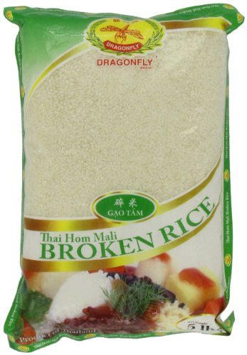 Dragonfly Thai Broken Rice, 5-Pound (Pack of 2)